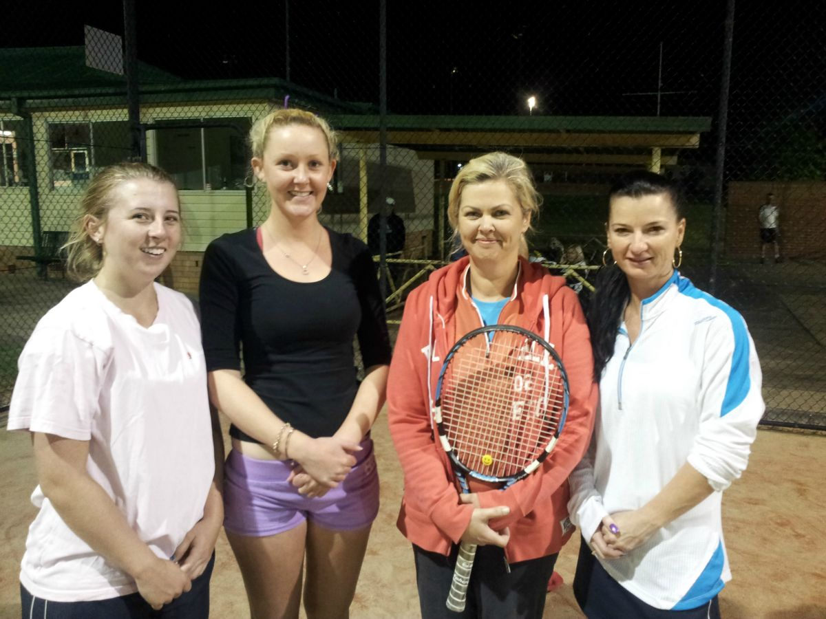 A Grade Ladies Doubles 2012